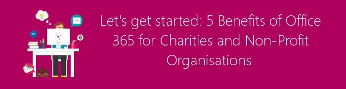 office 365 benefits charity