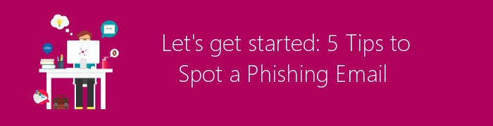 spot a phishing email