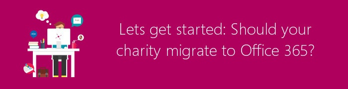charity migrate to office 365