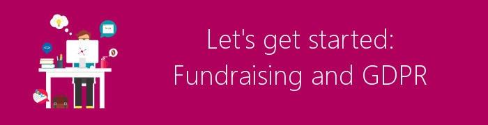 fundraising gdpr