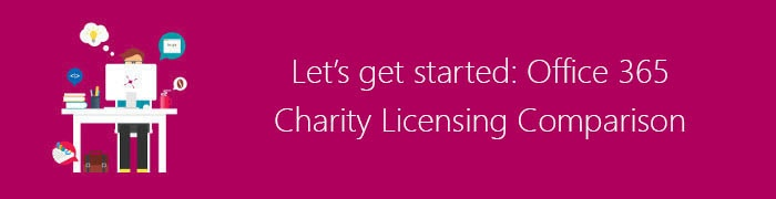 office 365 charity licencing